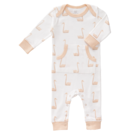 Fresk-FP262 -Pyjama-no-feet-Swan-pale-peach