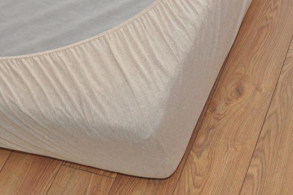 Cearceaf pat din bumbac organic Ege Organics - elastic