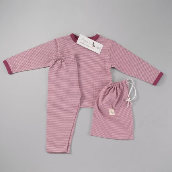 Pijamale din bumbac organic Pretty Fig
