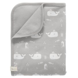 Fresk_F320-26-Baby-blanket-Whale-grey